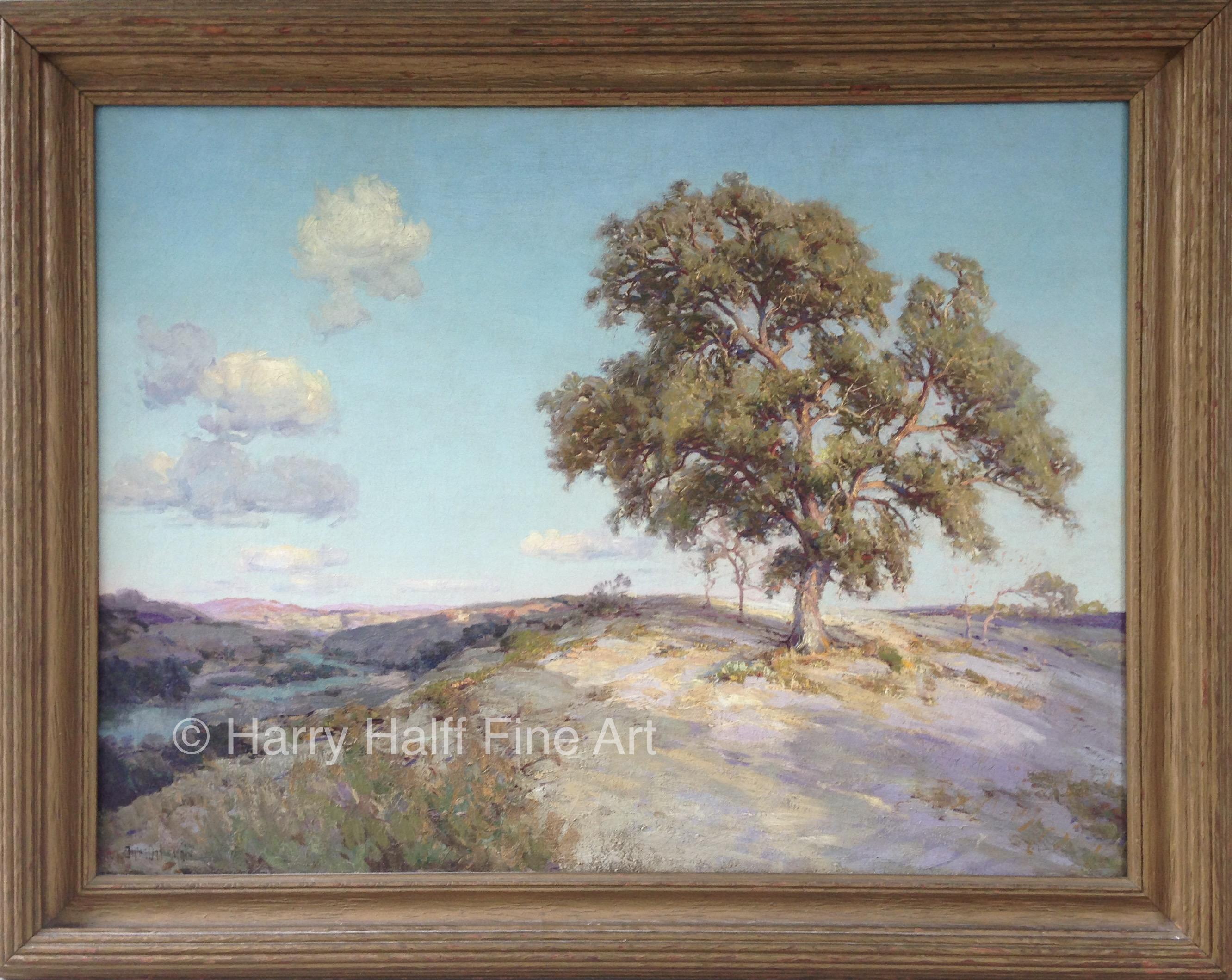 Old Live Oak by Julian Onderdonk